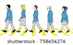vector illustration various... | Shutterstock .eps vector #758656276