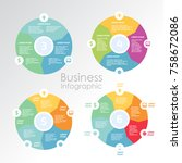 infographic design for use in... | Shutterstock .eps vector #758672086