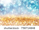 abstract  twinkled  christmas... | Shutterstock . vector #758714848