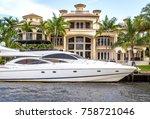 fort lauderdale  usa   august...   Shutterstock . vector #758721046