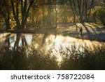 turaida  latvia   october 21 ... | Shutterstock . vector #758722084