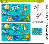 cartoon vector illustration of... | Shutterstock .eps vector #758723446