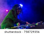 professional african american...   Shutterstock . vector #758729356