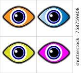 eye  eye pupil  eye mark