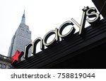 new york  new york november... | Shutterstock . vector #758819044