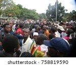 harare zimbabwe 18 november... | Shutterstock . vector #758819590