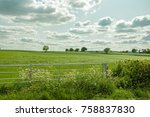 Summertime Gate And Land In Th...