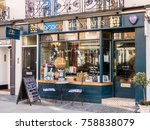london  november 2017. a front... | Shutterstock . vector #758838079