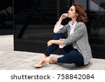 fashion lifestyle photo of... | Shutterstock . vector #758842084