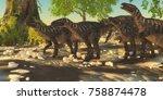 Iguanodon Dinosaurs 3d...