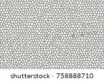 mosaic colorful pattern for... | Shutterstock . vector #758888710