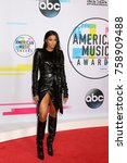 los angeles   nov 19   ciara at ... | Shutterstock . vector #758909488