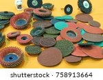 Small photo of abrasive grinding tools