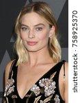 los angeles   nov 11   margot... | Shutterstock . vector #758925370