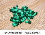 pills. tablets. capsule. medical | Shutterstock . vector #758958964
