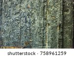 the textured surface of the... | Shutterstock . vector #758961259