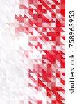 light blue  red vertical... | Shutterstock . vector #758963953
