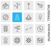 vector illustration of 16... | Shutterstock .eps vector #759006748