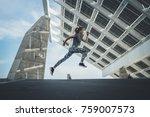 shot of  beautiful athlete... | Shutterstock . vector #759007573