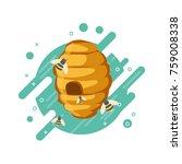 Sweet Honey Food Concept Vecto...