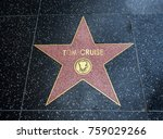 tom cruise's star  hollywood... | Shutterstock . vector #759029266