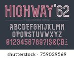 highway vector decorative bold... | Shutterstock .eps vector #759029569