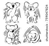 vector animal icons   logos...   Shutterstock .eps vector #759047824