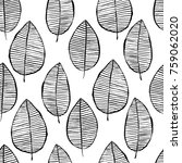 vector seamless pattern with... | Shutterstock .eps vector #759062020