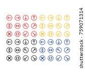 button icon vector | Shutterstock .eps vector #759071314
