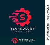 technology initial letter s... | Shutterstock .eps vector #759079216