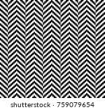 herringbone woven seamless... | Shutterstock .eps vector #759079654