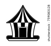 circus carnival tent | Shutterstock .eps vector #759083128