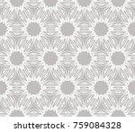 geometric flower. modern...   Shutterstock .eps vector #759084328