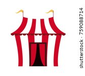 circus carnival tent | Shutterstock .eps vector #759088714