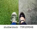 life balance concept for work... | Shutterstock . vector #759109048