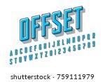 offset printing style modern... | Shutterstock .eps vector #759111979