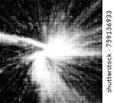 abstract grunge grid polka dot... | Shutterstock . vector #759136933