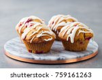 Muffins  Cakes With Cranberry...