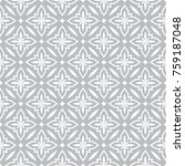 seamless ornamental pattern... | Shutterstock .eps vector #759187048