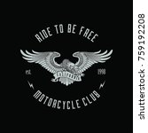 Eagle Badge For Motorcycle Club