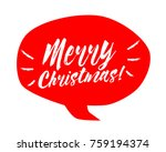 merry christmas  beautiful... | Shutterstock .eps vector #759194374