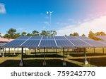 solar cells solar cells... | Shutterstock . vector #759242770