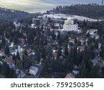 moscovia gorny monastery church ... | Shutterstock . vector #759250354