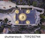 moscovia gorny monastery church ... | Shutterstock . vector #759250744