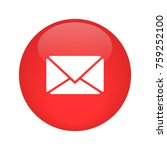 email icon vector | Shutterstock .eps vector #759252100