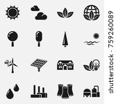 environmental protection  icons.... | Shutterstock . vector #759260089