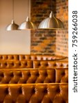 brown leather chairs in a booth ...   Shutterstock . vector #759266038