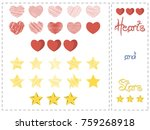 vectored hearts and stars...