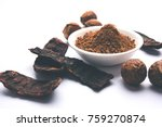dried shikakai and reetha or... | Shutterstock . vector #759270874