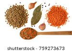 red and green lentils with...